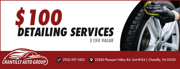 $100 Detailing Services