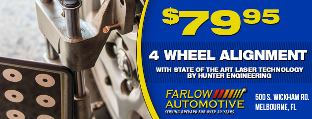 $79.95 Four Wheel Alignment