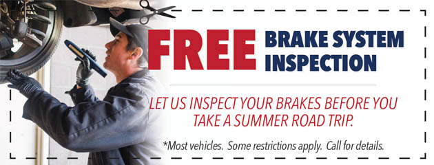 Free Brake System Inspection