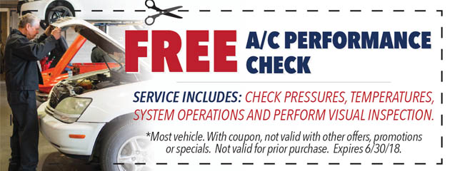 Free AC Performance Check
