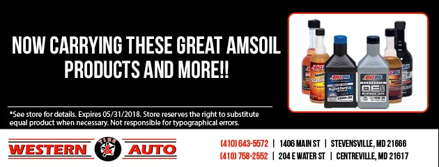 We Carry Amsoil Products and more!