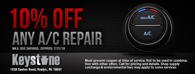 10% off any A/C Repair