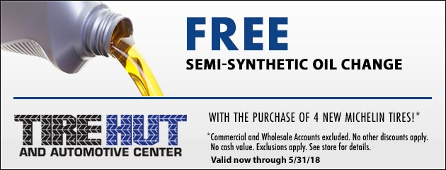 Free Semi-Synthetic Oil Change