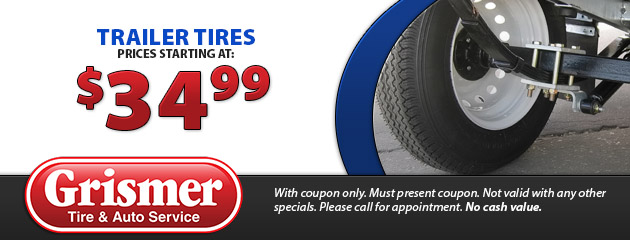 Trailer Tires Prices Starting at $34.99