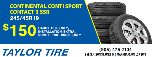$150 Continental Conti Sport Contact