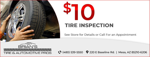 $10 Tire Inspection