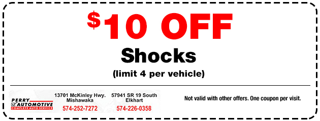 $10 off Shocks