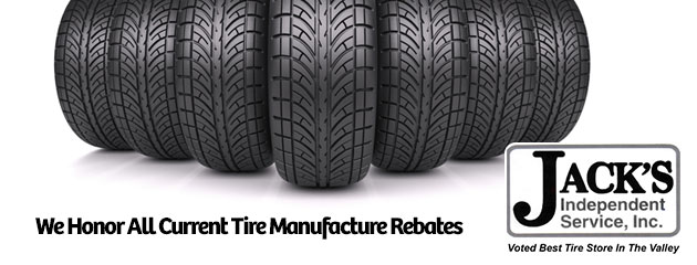 We Honor all Current Manufacturer Rebates