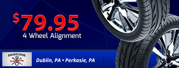 $79.95 4 Wheel Alignment