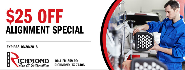 $25 Off Alignment Special