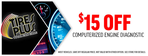 $15 OFF Diagnostic Service