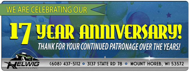 We are Celebrating our 17 Year Anniversary!