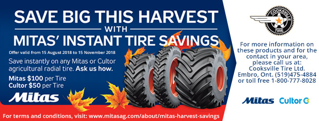 Mitas Fall Savings