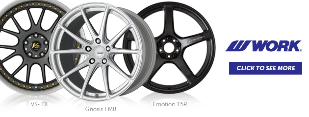 Work Wheels- VS-TX, Gnosis FMB, Emotion T5R