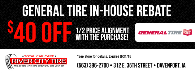 In House General Tire Rebate