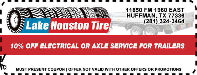 10% off electrical or axle service for trailers