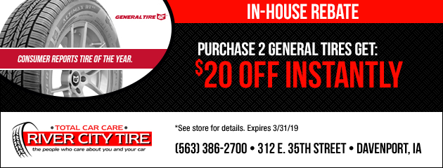 General In House Rebate