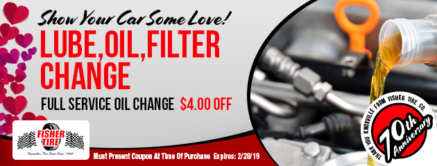 Lube, Oil and Filter Change Special
