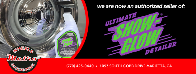 We are now an authorized seller of the Ultimate Show Glow Detailing Products