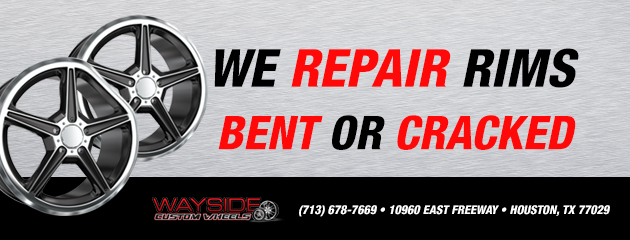 We repair rims