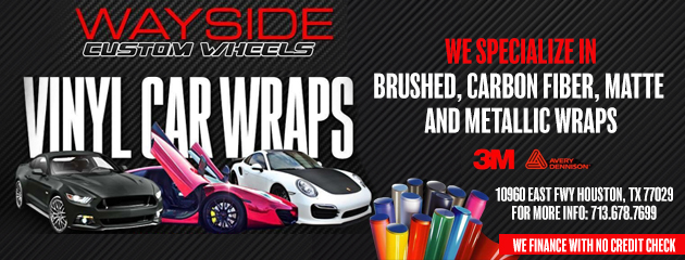 We Offer Car Wraps