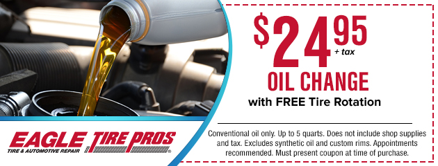 Oil Change and Rotation Special