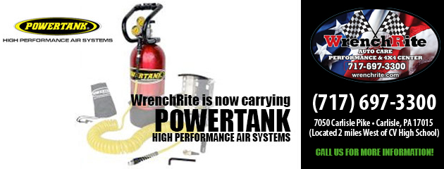 We are now carrying POWERTANK High Performance Air Systems