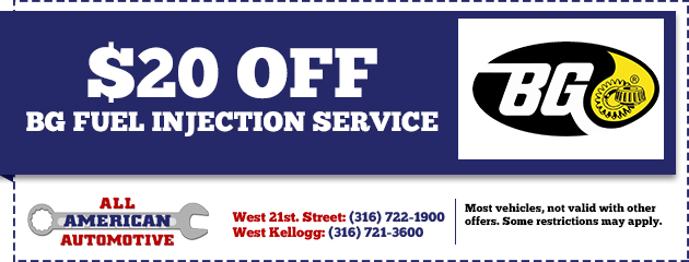 $20.00 Off BG Fuel Injection Service