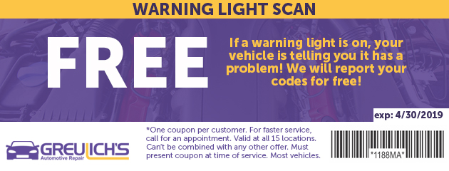 Free Warning Light Scan
