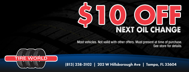 Save $10 Off Next Oil Change
