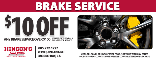 Tires Coupons Hinson S Tire Pros