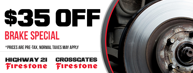 $35 off brake special