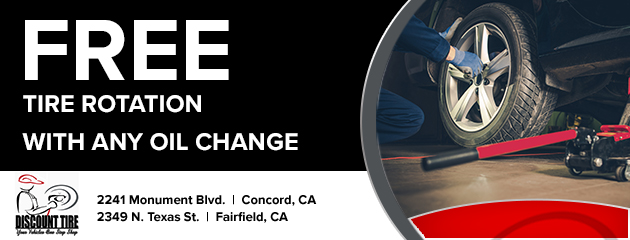 free tire rotation with any oil change