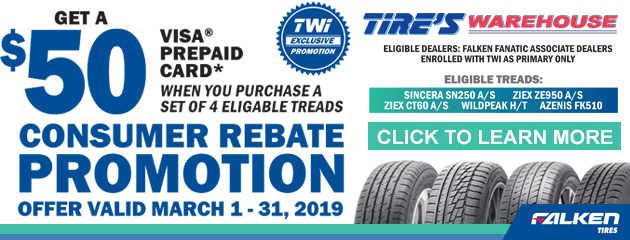 Falken Tire Rebate