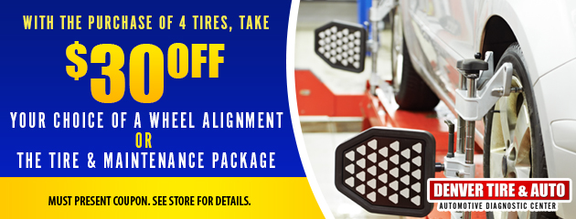 Save with the purchase of 4 tires