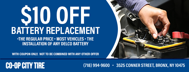 Battery Replacement Coupon