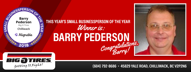 Small Businessperson of the year