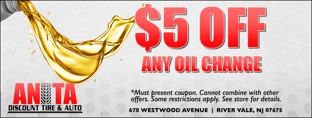 Discount Tire Oil Change >> Anita Discount Tire Auto Tires River Vale Nj Auto Repair
