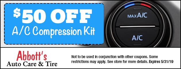$50 Off A/C Compressor Kit