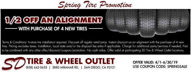 Spring Tire Promotion
