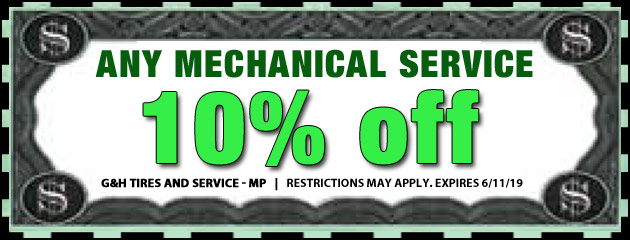 10% Off Any Mechanical Service