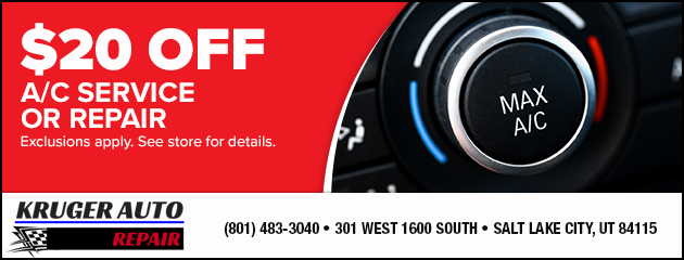 $20 off A/C Service or Repair
