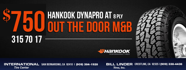 Hankook DynaPro AT Tires