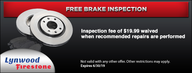 firestone free brake inspection coupons