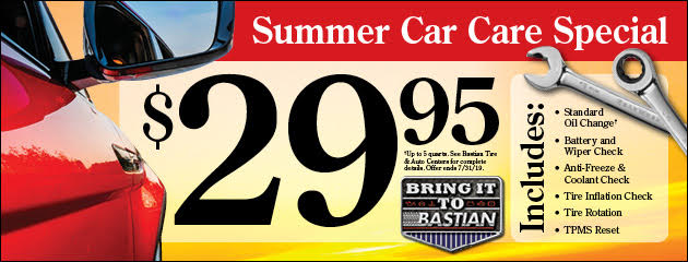 Summer Car Care Special
