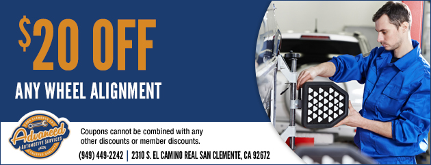 $20 Off Any Wheel Alignment