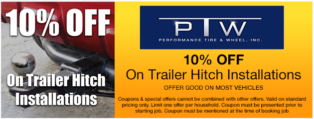 10% off Trailer Hitch Installations