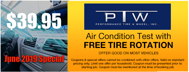 A/C Test with Free Tire Rotation