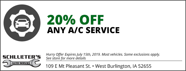 20% off any AC Service