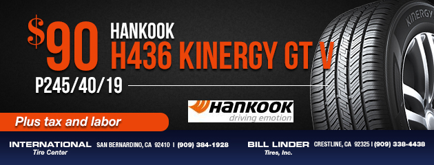 Hankook H436 Kinergy GT V
